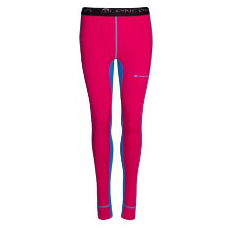 ALPINE PRO SUSY 2 Dámské spodní kalhoty LUNP053674 Blue aster