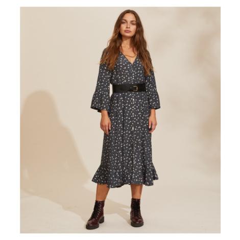 Šaty Odd Molly Esmée Long Dress - Černá