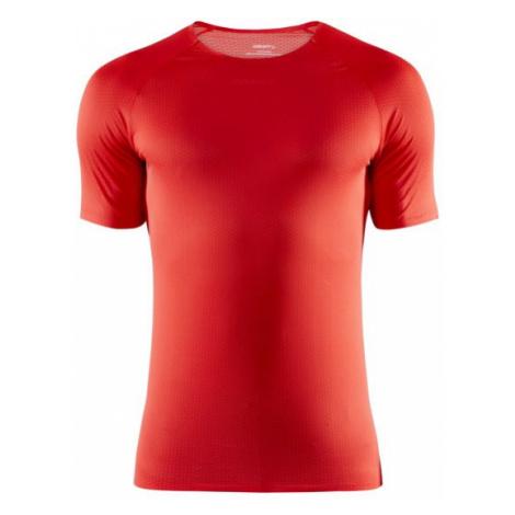 Pánské tričko CRAFT Nanoweight SS červená