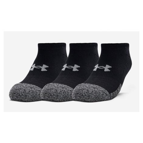 Under Armour HeatGear ponožky 3 páry Černá XL (47-53 EU)