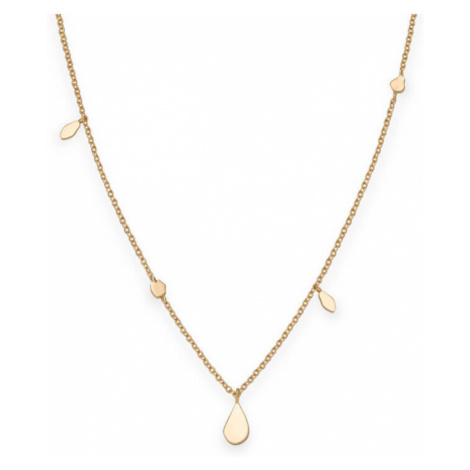 Rosefield náhrdelník Iggy Shaped Drop Necklace Gold