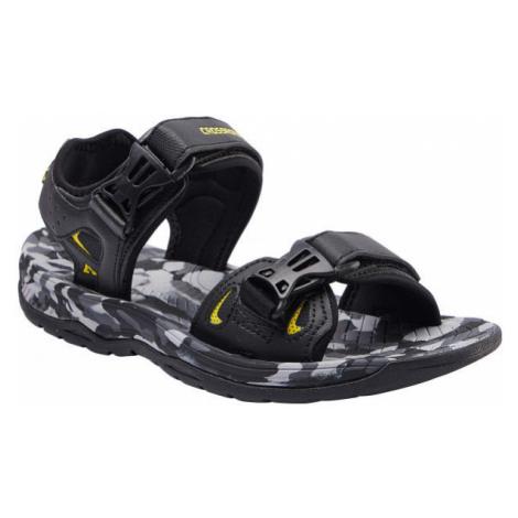 Crossroad MALACHI černá - Pánské sandály