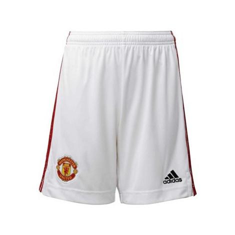 Adidas Domácí šortky Manchester United 20/21 Bílá