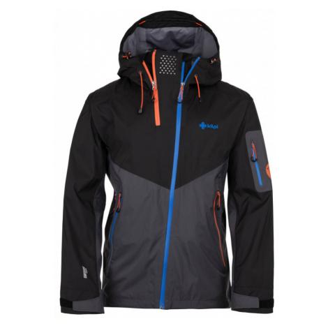 KILPI Pánská třívrstvá lyžařská bunda METRIX-M HM0020KIDGY Tmavě šedá