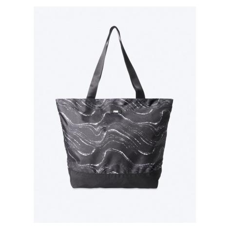 Victorias Secret PINK černá plátěná taška Weekender Tote Victoria's Secret