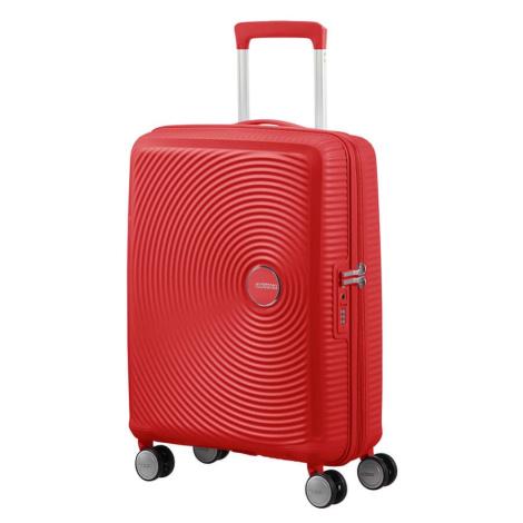 American Tourister Cestovní kufr Soundbox Spinner EXP 32G 97/110 l - červená