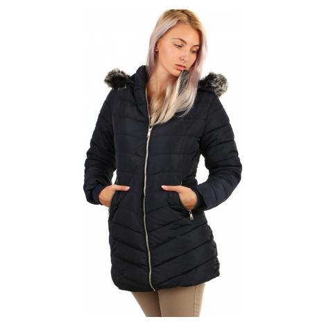 Dámský prošívaný zimní kabát