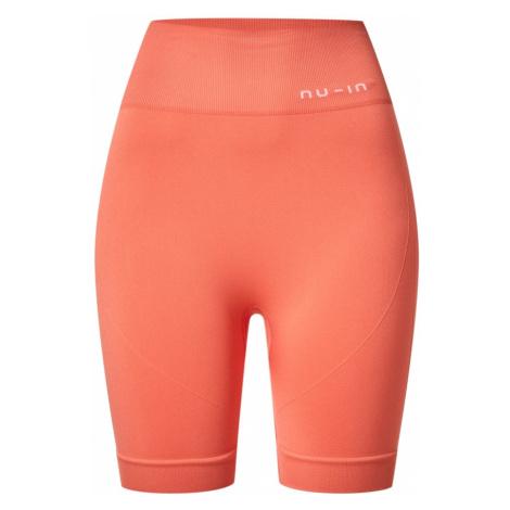 NU-IN Funkční kalhoty 'Cycling Shorts' oranžová
