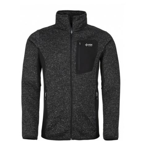 KILPI Pánský fleece svetr RIGAN-M JM0088KIDGY Tmavě šedá