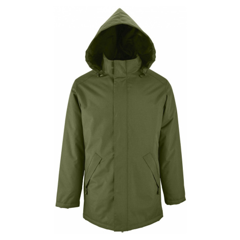 SOĽS Pánský kabát ROBYN 02109266 Forest green SOL'S