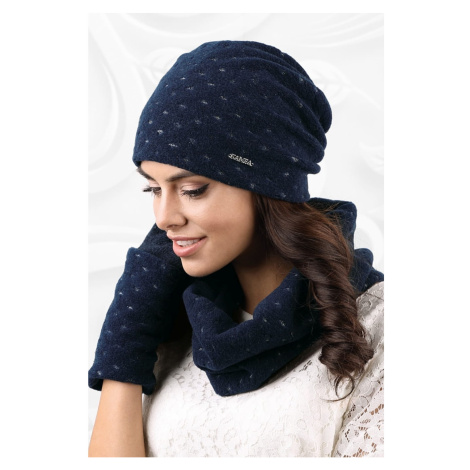 Kamea Woman's Snood K.18.862.12 Navy Blue