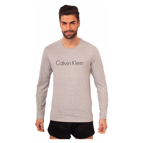 Men's T-shirt Calvin Klein gray (NM1345E-080)