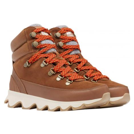 Sorel KINETIC CONQUEST hnědá - Dámská zimní obuv