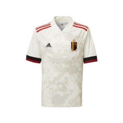 Adidas Venkovní dres Belgium Bílá