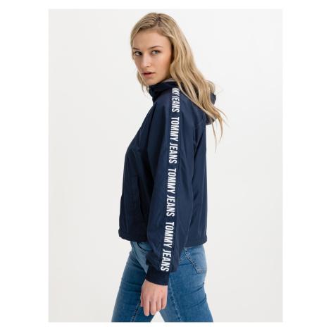 Repeat Logo Tape Bunda Tommy Jeans Modrá Tommy Hilfiger