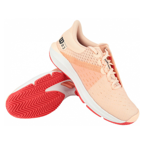 Dámská tenisová obuv Wilson Kaos 3.0 Clay Papaya