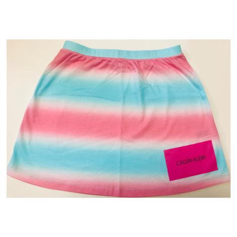 Dívčí sukně Calvin Klein G80G800255 | růžová