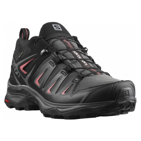 Salomon X ULTRA 3 GTX, Magnet/Black/Mineral Red Dámské boty