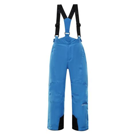 ALPINE PRO ANIKO 3 Dětské lyžařské kalhoty KPAP168674 Blue aster