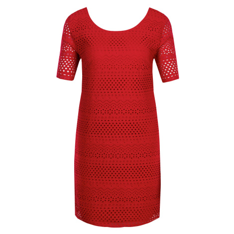 Červené šaty - ARMANI EXCHANGE