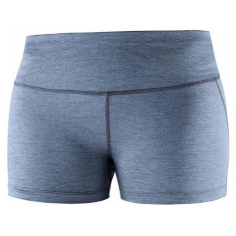 Salomon AGILE SHORT TIGHT W modrá - Dámské běžecké šortky