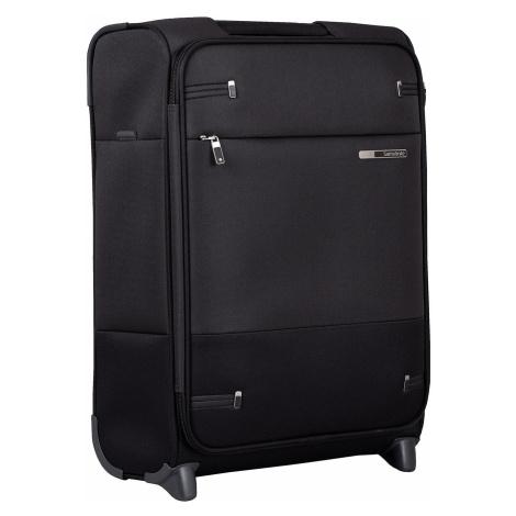 Černý textilní kufr na kolečkách Samsonite