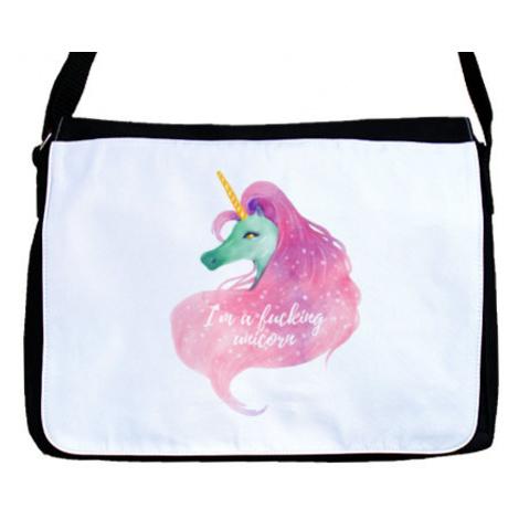 Taška přes rameno I'm a fucking unicorn
