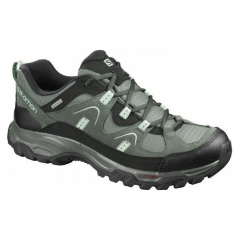 Salomon FORTALEZA GTX šedá - Pánská outdoorová obuv