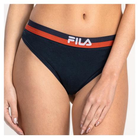 Dámské kalhotky FILA Underwear Navy String
