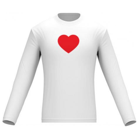 Pánské tričko dlouhý rukáv Jednoduché srdce