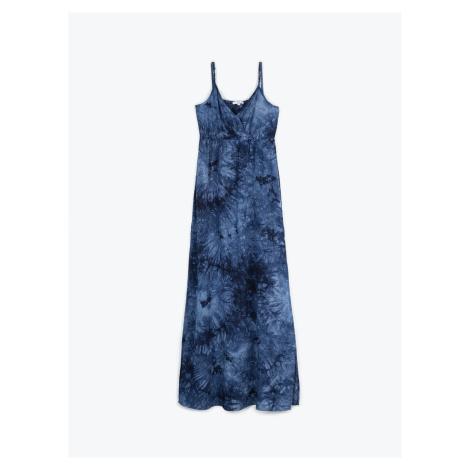 GATE Dlouhé batikované šaty