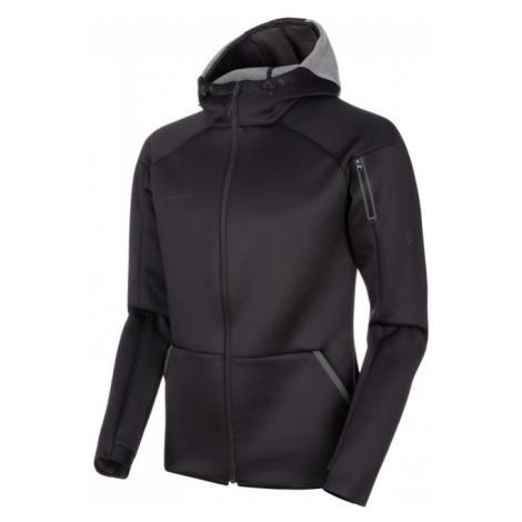 Pánská mikina Mammut Logo ML Hooded Jacket Men black mélange