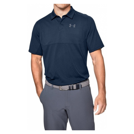 Pánské triko s límečkem Under Armour Tour Tips Blocked Polo