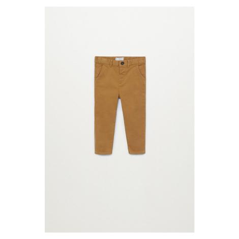 Mango Kids - Dětské kalhoty CHINO8