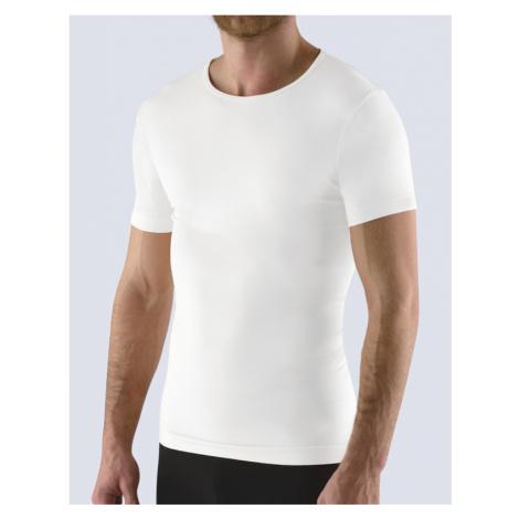 GINA Pánské tričko s krátkým rukávem 58009-MxB bílá