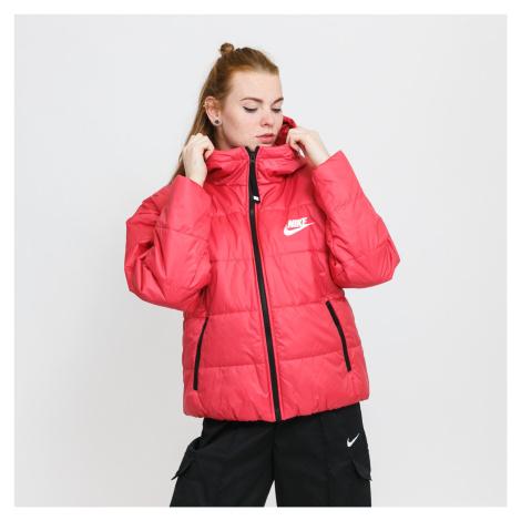 Nike W NSW TF RPL Classic HD Jacket tmavě růžová