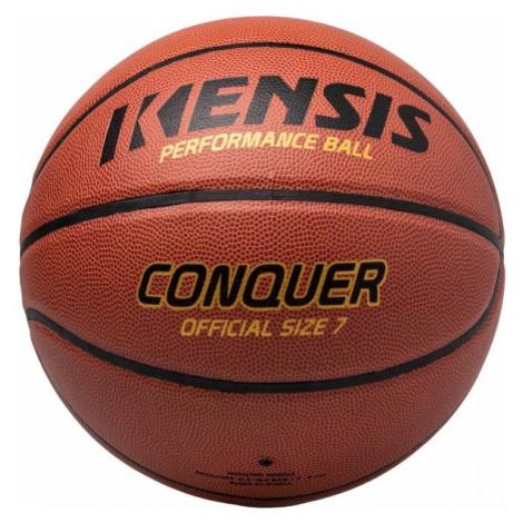Kensis CONQUER7 hnědá - Basketbalový míč