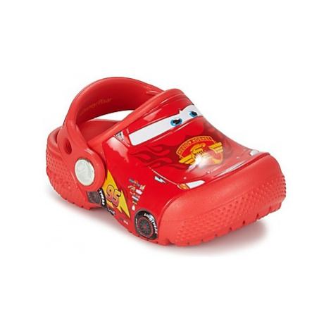 Crocs Crocs Funlab Light CARS 3 Movie Clog Červená