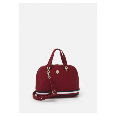 Tommy Hilfiger dámská tmavě červená kabelka