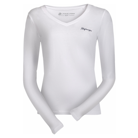 Dámské triko Alpine Pro DALILA 3 - bílá