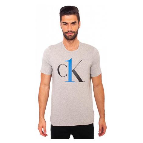 Pánské tričko CK ONE šedé (NM1903E-YG4) Calvin Klein