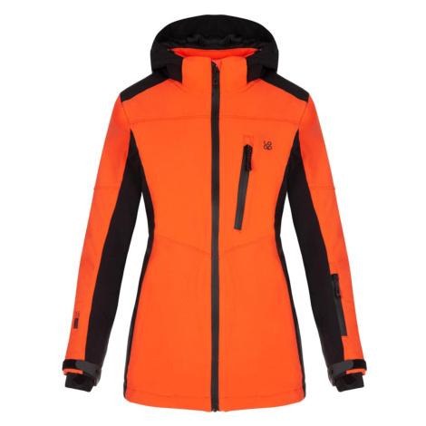 FALONA women's ski jacket orange LOAP