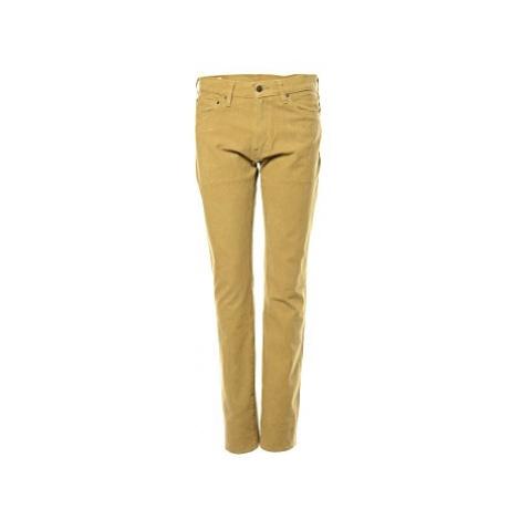 Manšestrové kalhoty Levi´s® 511 Slim fit pánské béžové