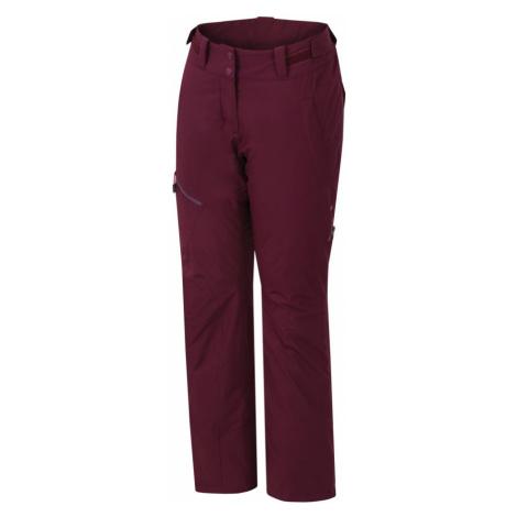 HANNAH TIBI II Dámské lyžařské kalhoty 10000137HHX01 Grape wine