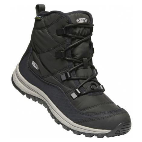 Keen TERRADORA ANKLE WP černá - Dámská zimní vysoká obuv