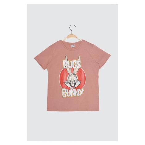 Trendyol Orange Knitted T-Shirt