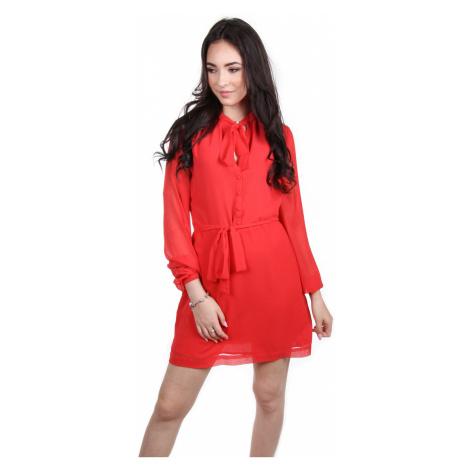 Pepe Jeans dámské červené šaty Shelly