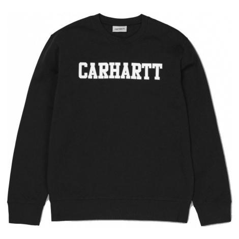 MIKINA CARHARTT College Sweat - černá Carhartt WIP