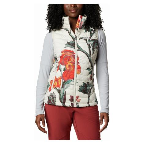 Vesta Columbia Powder Lite™ Vest W - bílá/červená