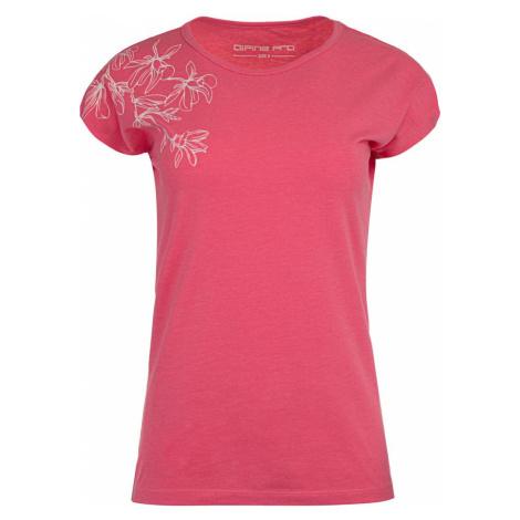 Alpine Pro Poska dámské tričko růžové